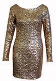 CUTE SHINING SEQUINS DRESS