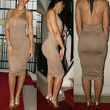 DRESS IS BIND BELT SKIRT BACKLESS DRESS