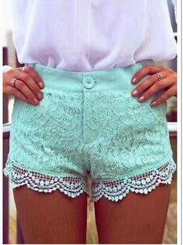 ON SALE HOT GREEN SHORTS