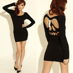 COOL SKULL HOLLOW OUT NICE SEXY DRESS HIGH QUALITY
