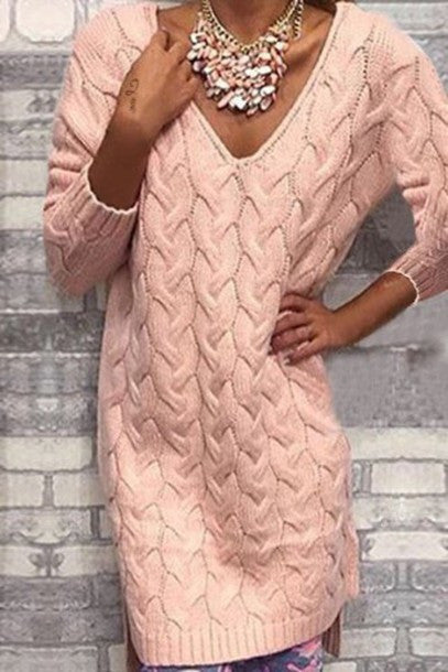 HOT HIGH QUALITY WOVEN SWEATER DRESS HIGH QUALITY NOT THE POOR