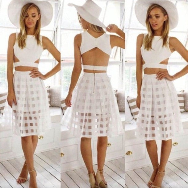 HOT TWO PIECE CUTE DRESS FOR ONE OR TWO