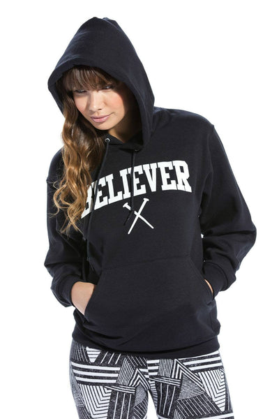 Believer Young and Free Unisex Hoodie