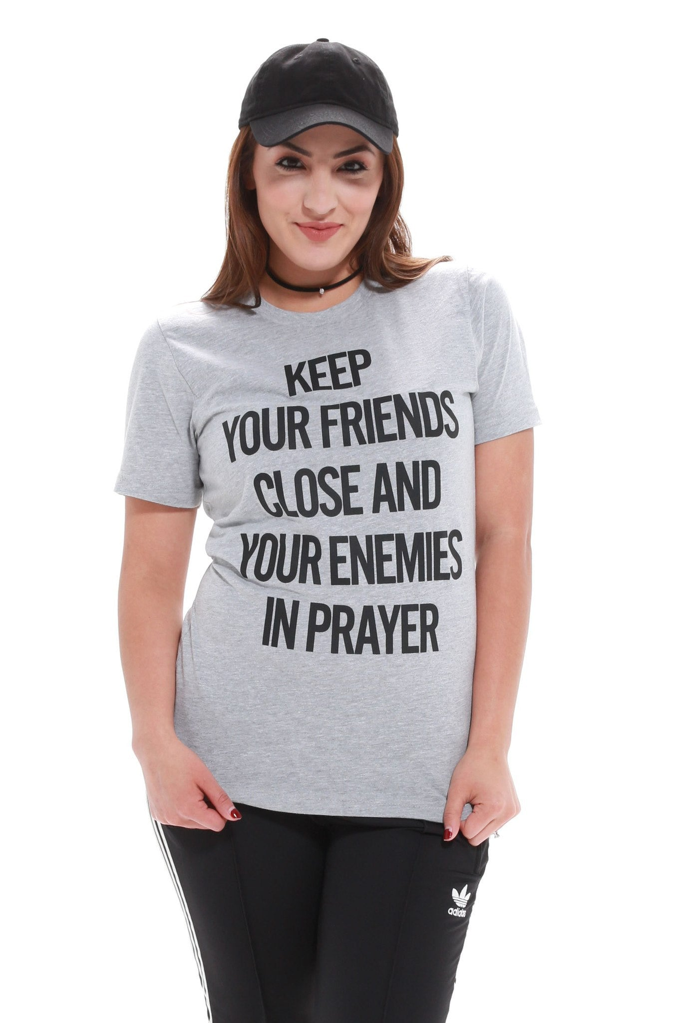 Pray For Your Enemies Unisex Tee - JCLU Forever - 1