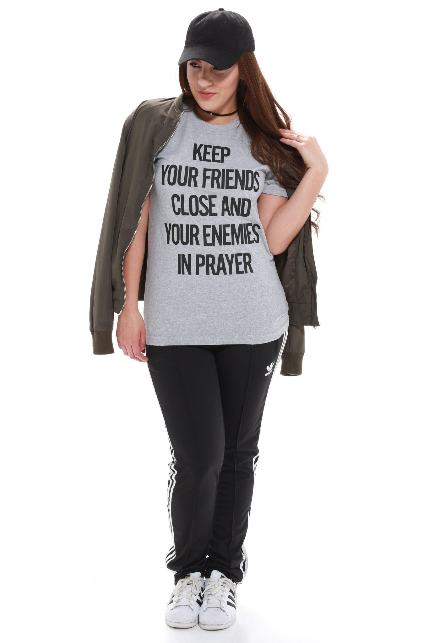 Pray For Your Enemies Unisex Tee - JCLU Forever - 2