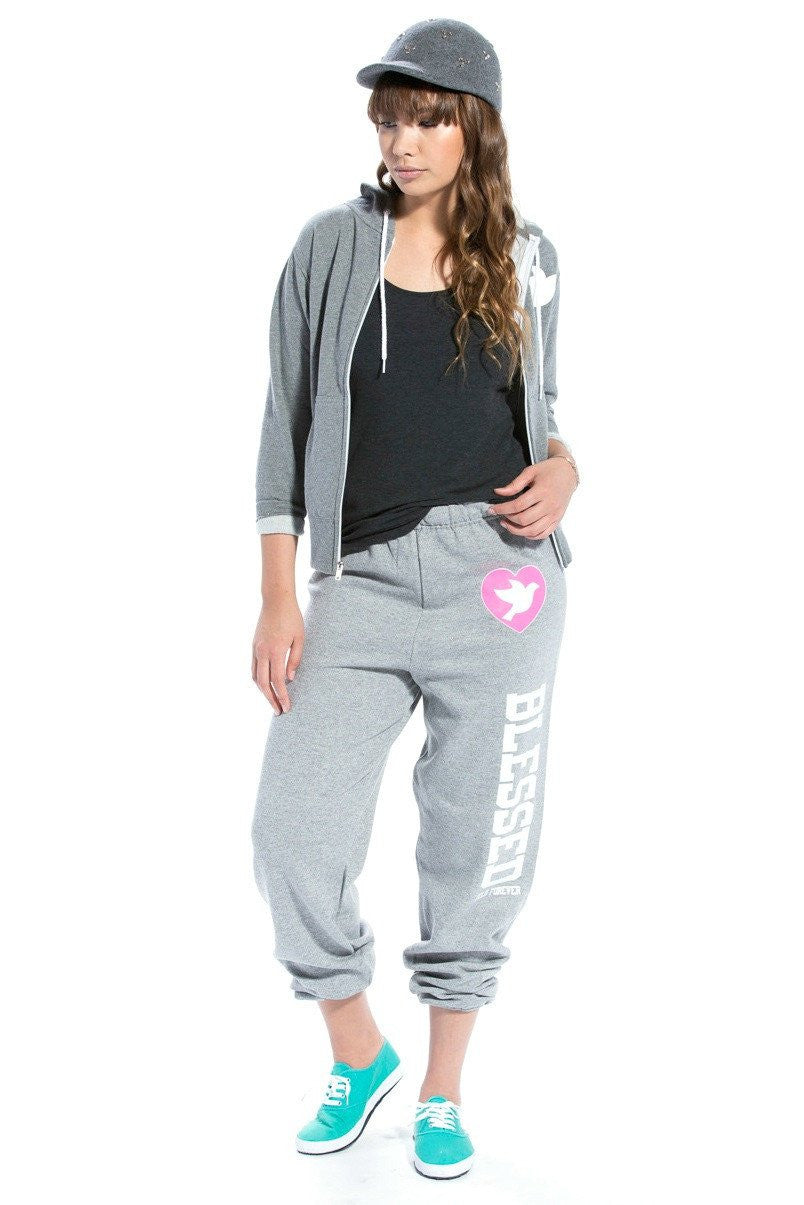 Blessed Sweatpants Heather Gray