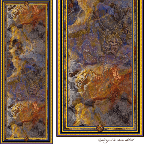 Clouds of Transformation - Mykel Ankyn Limited Edition Fine Art Scarves