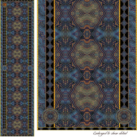 Phoenician Trade Route - Mykel Ankyn Limited Edition Fine Art Scarves