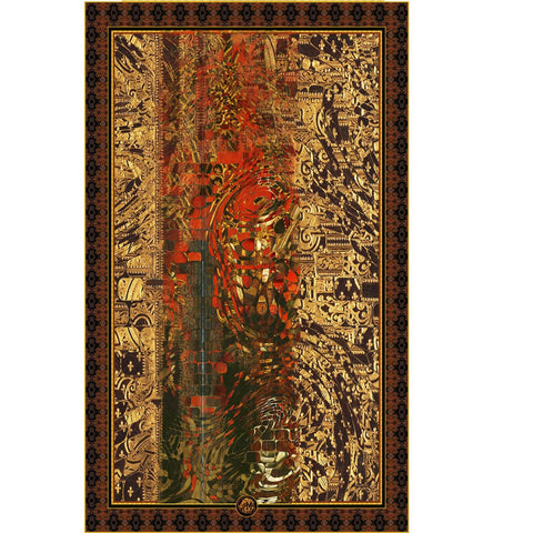 Salut d'Amour - Mykel Ankyn Limited Edition Fine Art Scarves