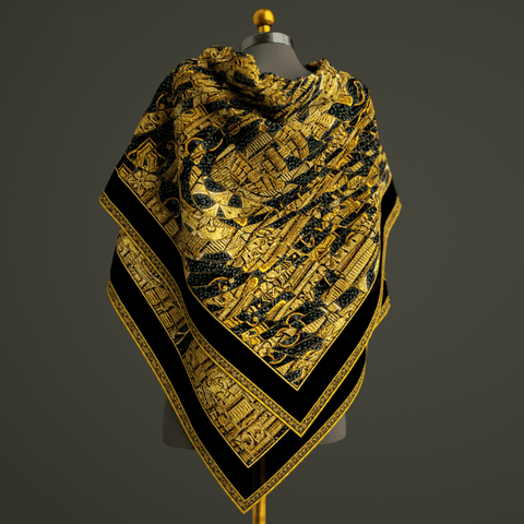 Rhapsody - Mykel Ankyn Limited Edition Fine Art Scarves