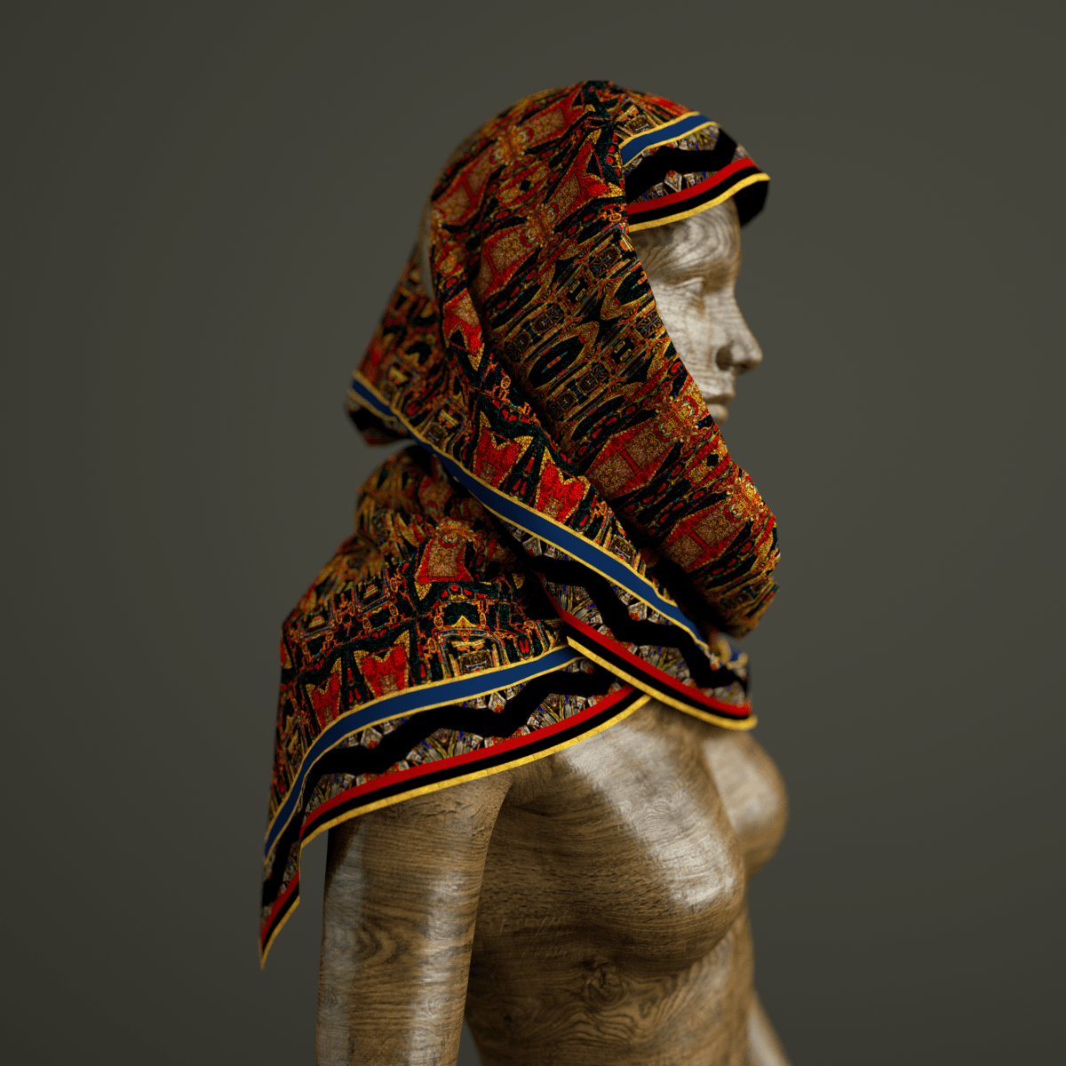 Talisman - Mykel Ankyn Limited Edition Fine Art Scarves