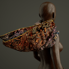 Happy Hour - Mykel Ankyn Limited Edition Fine Art Scarves