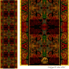 Nutcracker Hangover - Mykel Ankyn Limited Edition Fine Art Scarves