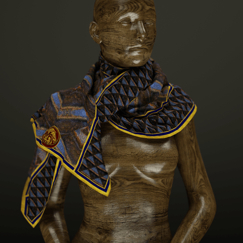 Ascent - Mykel Ankyn Limited Edition Fine Art Scarves