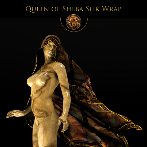 Queen of Sheba - Mykel Ankyn Limited Edition Fine Art Scarves