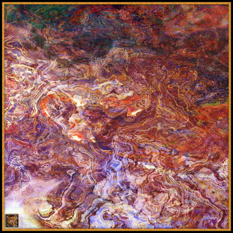 Renaissance Square - Mykel Ankyn Limited Edition Fine Art Scarves