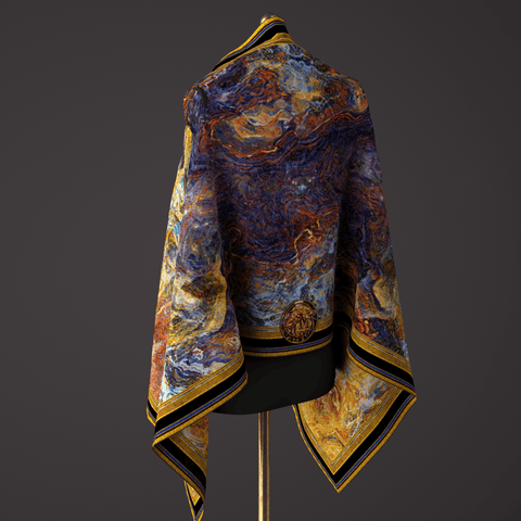 Creation - Mykel Ankyn Limited Edition Fine Art Scarves