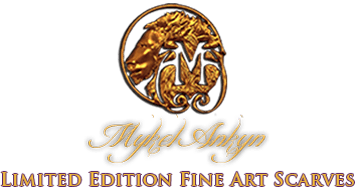 Mykel Ankyn Limited Edition Fine Art Scarves