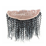Luxurious Curly Sheer Lace Frontal