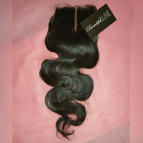 Luxe Wave Sheer Lace Closure