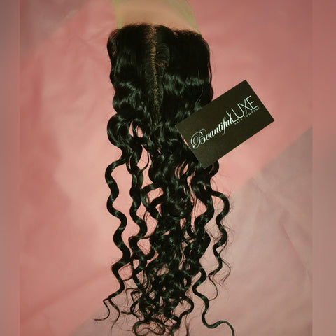 Ocean Deep Wave Sheer Lace Closure