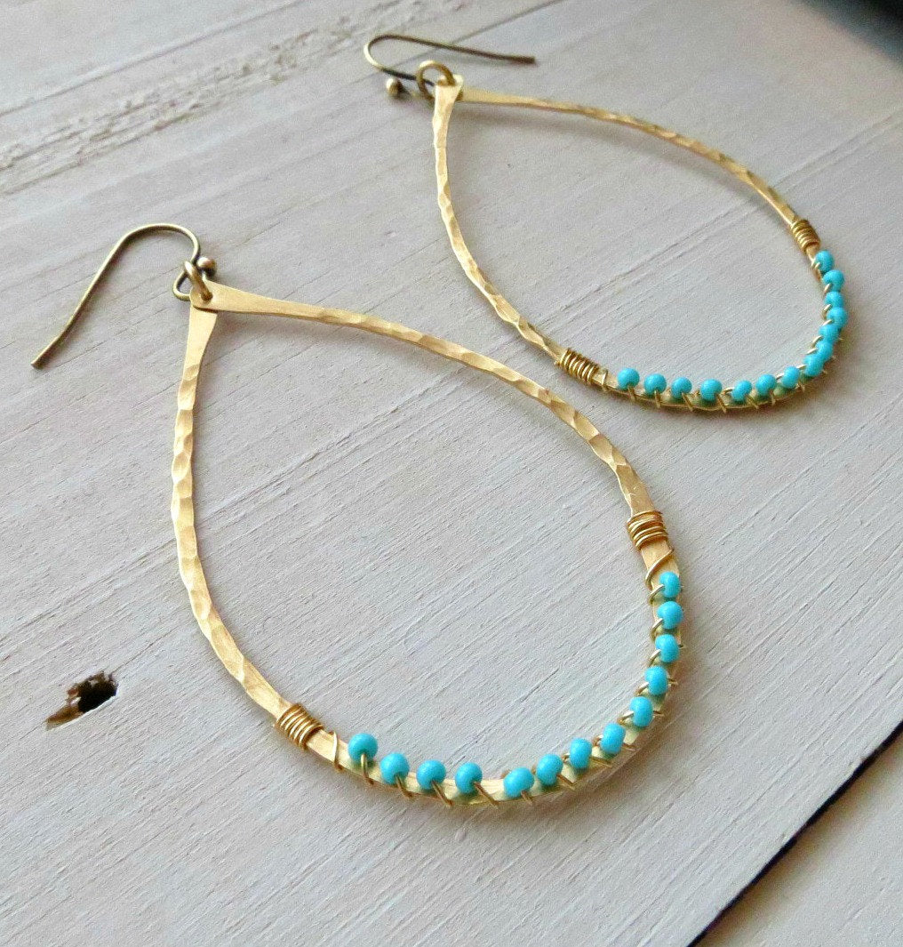 buy beaded blue zulu jewellery in earrings oxfam shop