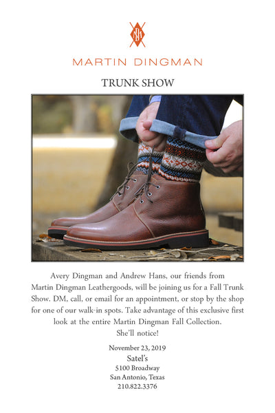 Martin Dingman Leather Goods Special Event - 11/23