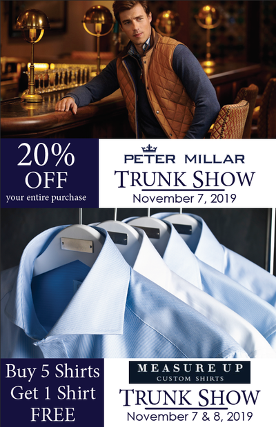 Peter Millar & Measure Up Custom Shirts Special Event
