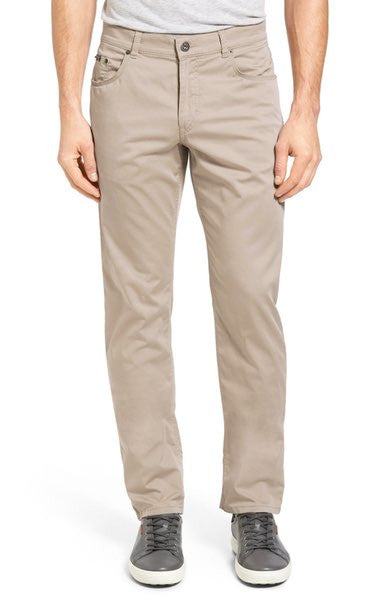 Prestige Beige Stretch Cotton Pants