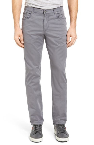 Prestige Grey Stretch Cotton Pants