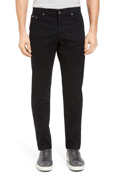 Prestige 'Perma Black' Stretch Cotton Pants : Brax - Satel's
