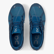 On Cloud - Blue & Denim Running Shoe : On Cloud - Satel's