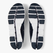 On Cloud - Navy & White Running Shoe : On Cloud - Satel's