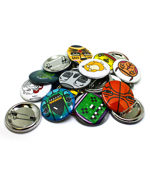 1.5 Inch Pin Back Buttons