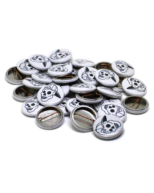 1 inch Pin Back buttons