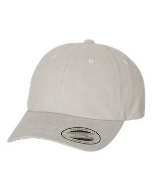 Yupoong - Peached Twill Dad's Cap - 6245PT