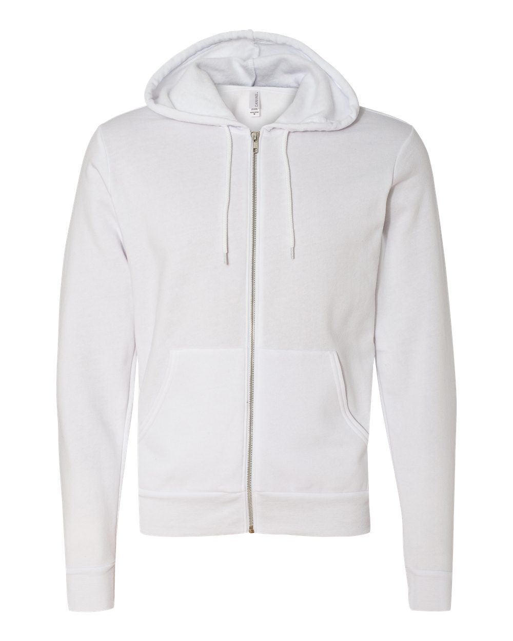 Bella + Canvas - Unisex Full-Zip Hooded Sweatshirt - Silkscreen - 3739