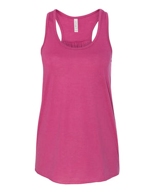 Bella + Canvas - Ladies' Flowy Racerback Tank - Silkscreen - 8800