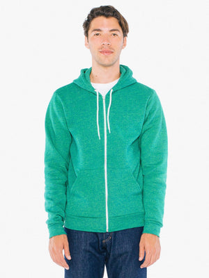 American Apparel - Flex Fleece Zip Hoodie - Silkscreen - F497