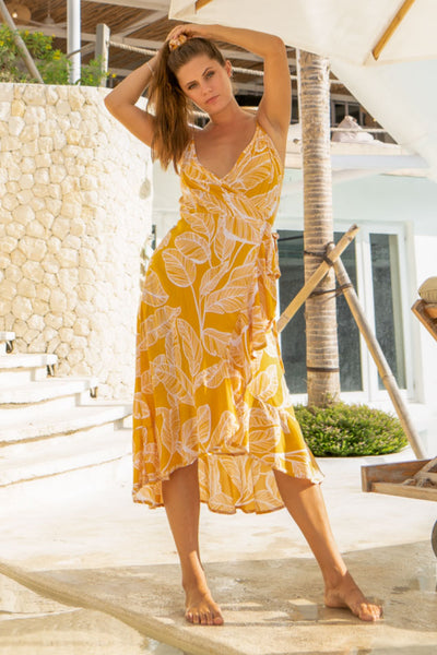 Hawaii Wrap Dress