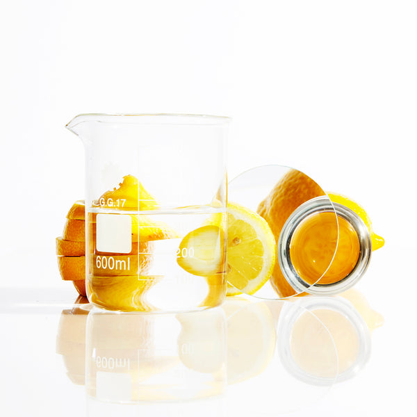Lab Beakers and Lemons | HydroSkinCare
