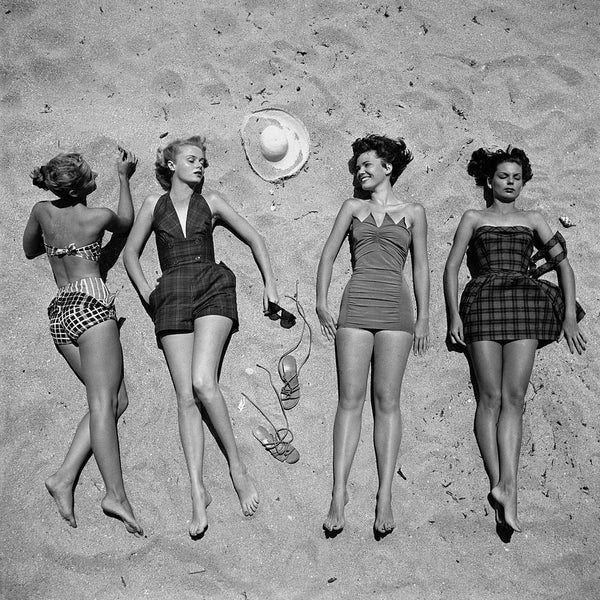 Vintage Fashion Photography Swimwear