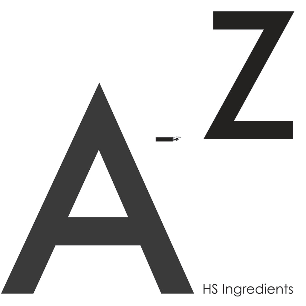 A-Z Ingredients Text Post | HydroSkinCare