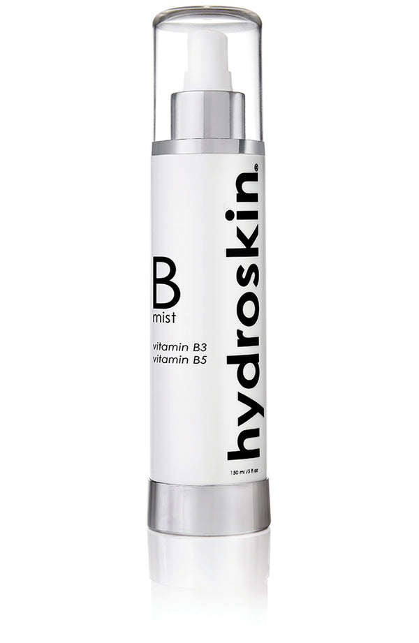Hydrating facial mist with Niacinamide (Vitamin B3), d-panthenol (Vitamin B5), & Hyaluronic Acid, 150ml, HydroSkinCare