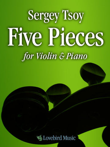 Five Pieces for Violin & Piano