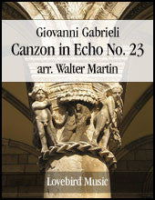 Canzon in Echo No 23