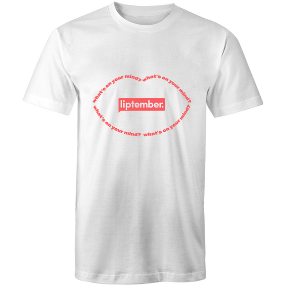 Liptember What's on your mind? - Unisex T-shirt