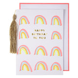 Rainbow & Tassel Cards