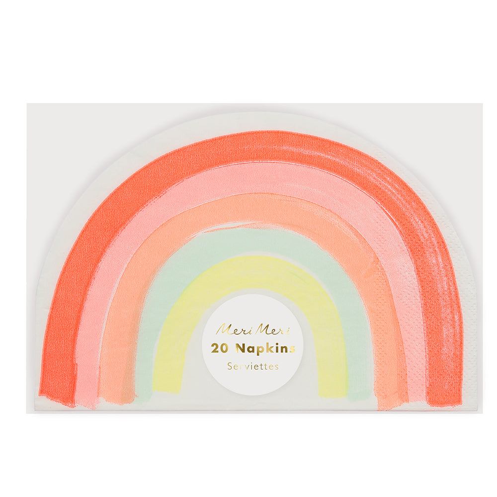 Rainbow Large Napkin