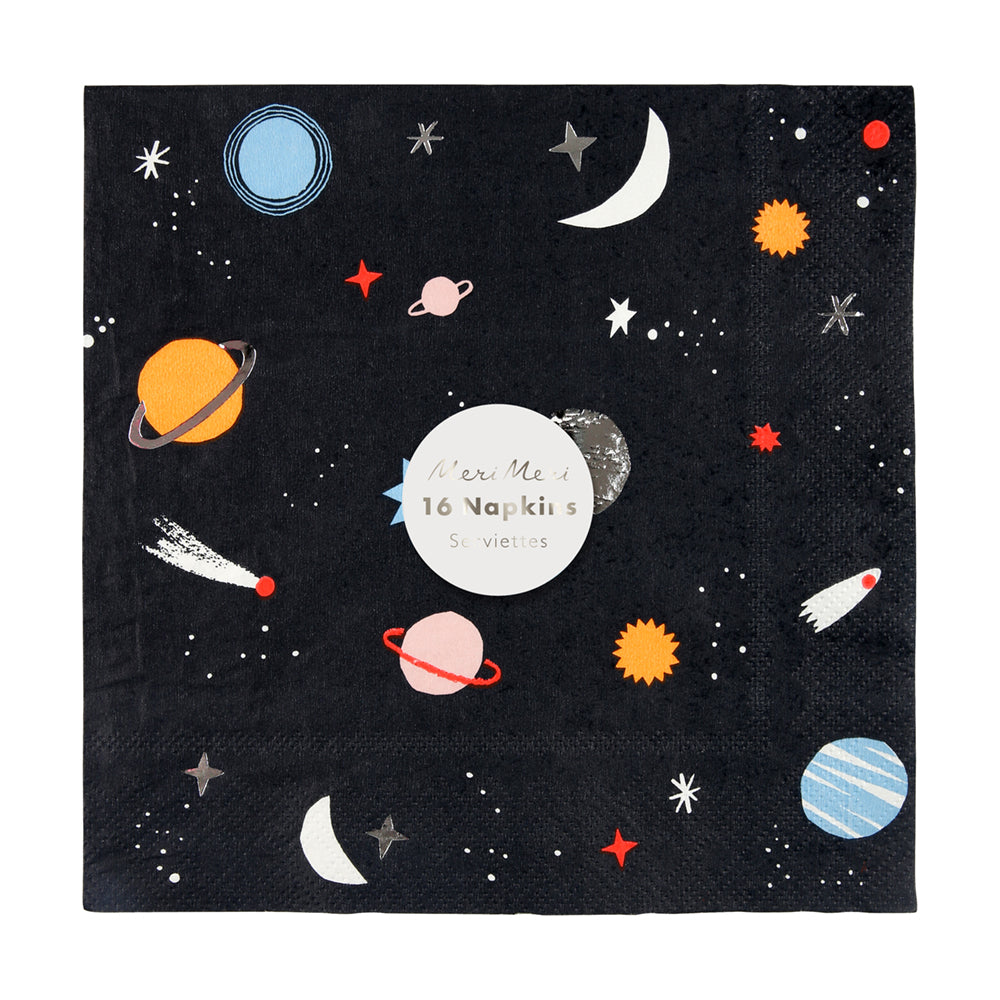 Space Small Napkins